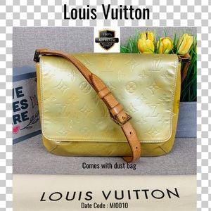 Louis Vuitton Shoulder bag thompson street yellow